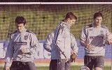 Barton and his England pals