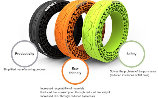 VIDEO: Airless Tires From Hankook Look as Good as They Roll