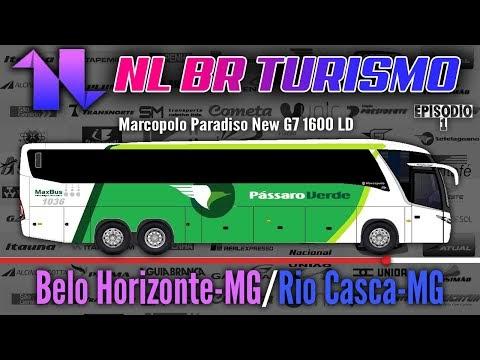 Viação Pássaro Verde | Belo Horizonte-MG | Rio Casca-MG