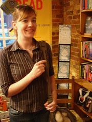 Me in Fountain Bookstore
