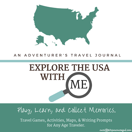 Explore the USA | An Adventurer's Travel Journal for Children