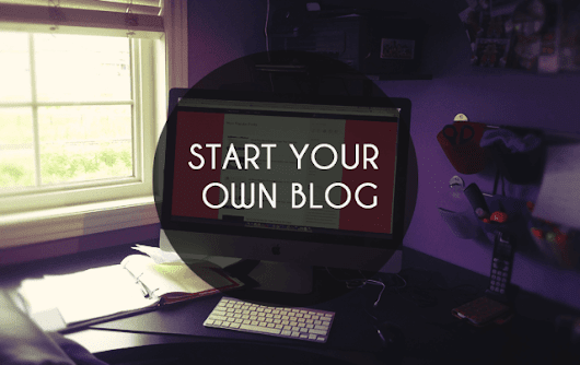 How To Start A Blog [2016]