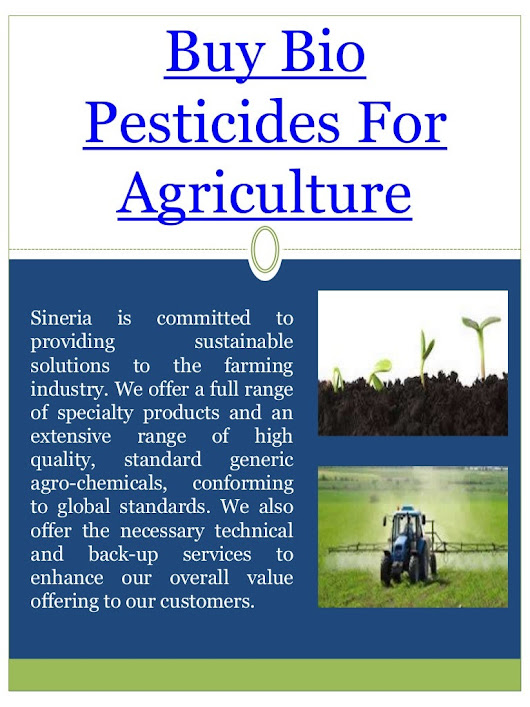 Buy bio pesticides for agriculture