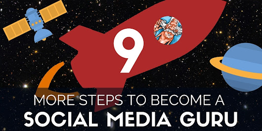 How to Become a Social Media Guru in 9 Steps
