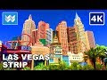 Attractions of Las Vegas Strip, Walking Tour Video and Las Vegas Map Guide