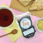 Lemon Peel Black Tea | Meyer Lemon Black Tea Irish Breakfast Loose Leaf Organic