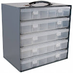 Durham Mfg Compartment Box Rack, No, Overall Height 13 1/4 in, Overall Length 9 1/8 in 291-95