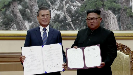 North and South Korea commit to 'era of no war' - CNN