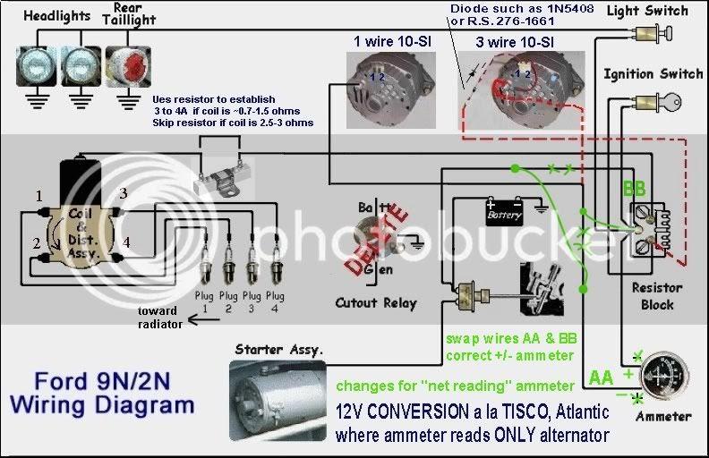 Ford N Series Wiring Diagram