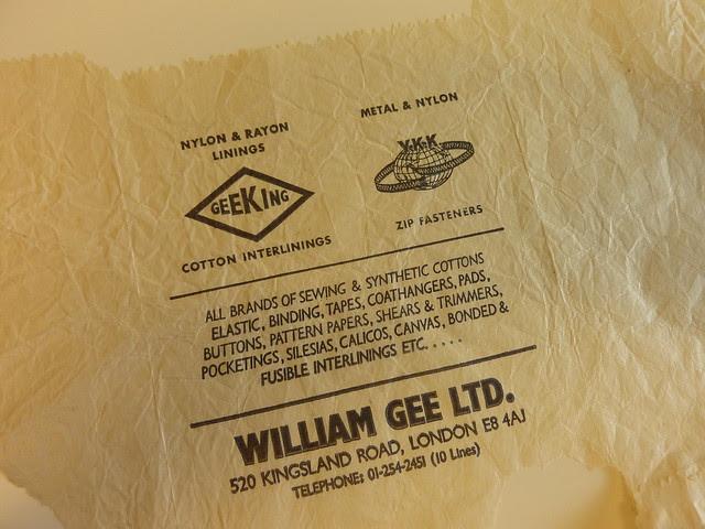 William Gee - Paper Bag (Spring 2013)