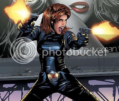 Viúva Negra em Homem de Ferro 2
