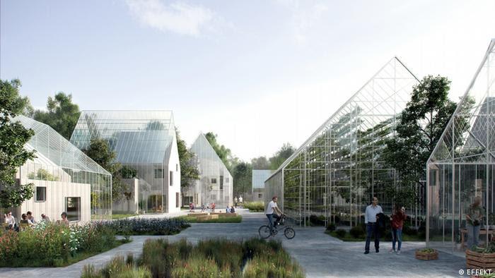 Projeto Regen Village, nos arredores de Amsterdã