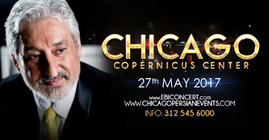 Ebi 50 - Live Iranian Event in Chicago - 27 May 2017 - Copernicus Center