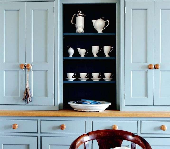 Modern Country Style: Farrow And Ball Parma Gray: Colour Study
