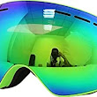 Amazon.com : Benice Polarized Ski Goggles with Photochromic Anti Fog and UV 400 Protection Mirror Spherical Dual Lens (Green) : Sports & Outdoors