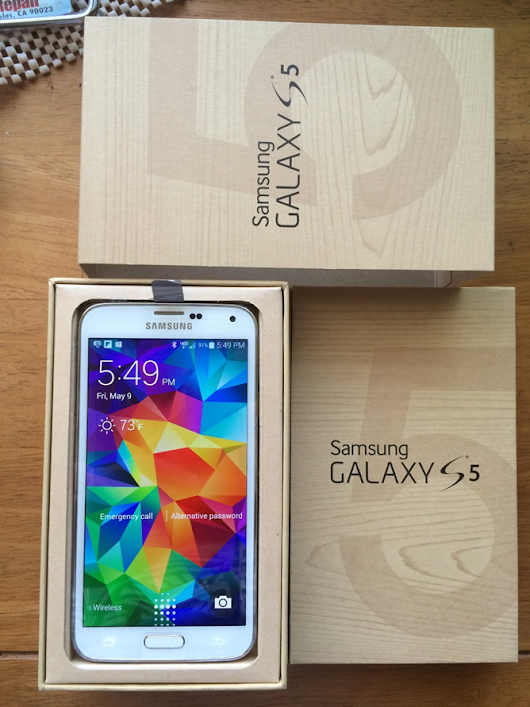 [International Giveaway] Win A White, International, Carrier-Unlocked 16GB Samsung Galaxy S5 From Handy Apps And Android Police