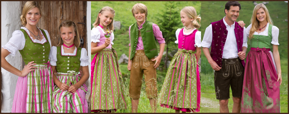German Oktoberfest Dirndls Lederhosen Accessories Available