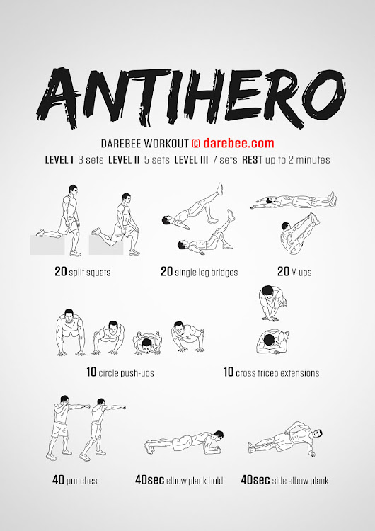 Antihero Workout