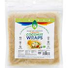 Nuco Organic Coconut Wraps, Turmeric - 5 count, 2.47 oz packet