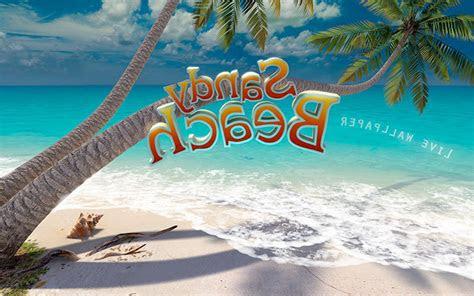 sandy beach  screensaver  animated  screensaver