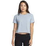 Next Level Ladies Festival Cali Crop T Shirt - N5080 - Stonewash Denim