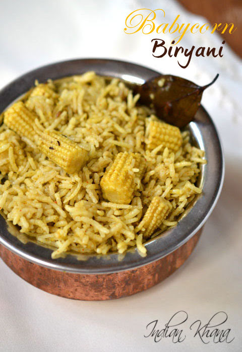 Babycorn-Biryani-Recipe