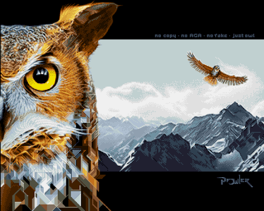 White Dream by Prowler - Amiga Graphics Archive