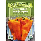 High Mowing Organic Seeds - Organic Lively Italian Orange Pepper Seeds - 1 Packet