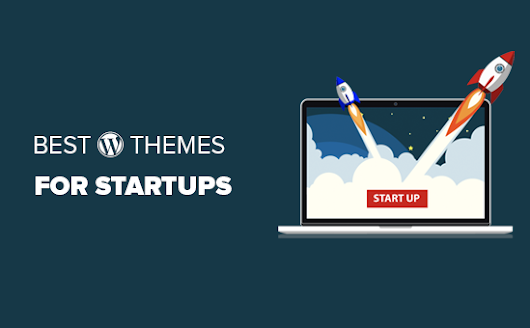 25 Best WordPress Themes for Startups (2018)