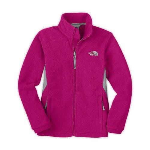 cheap the north face girls khumbu jacket razzle pink size