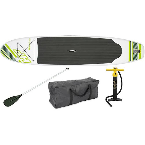 """Bestway Inflatable Hydro Force Wave Edge 122"""" x 27"""" Paddle Board, Green"""
