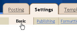 Settings   Basics