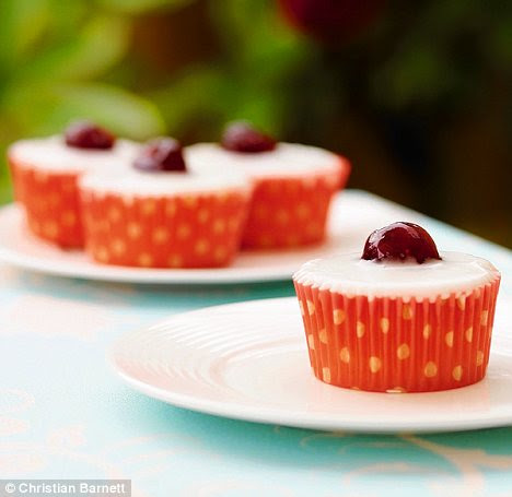 Retro treat: These Cherry Bakewells will be the icing on the cake for afternoon tea © Woodlands Books