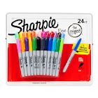 Sharpie Permanent Markers, 24ct 24 Ct. - Fine Point Variety Pack