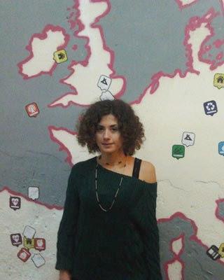 Angela Balzano en el Patio Maravillas.