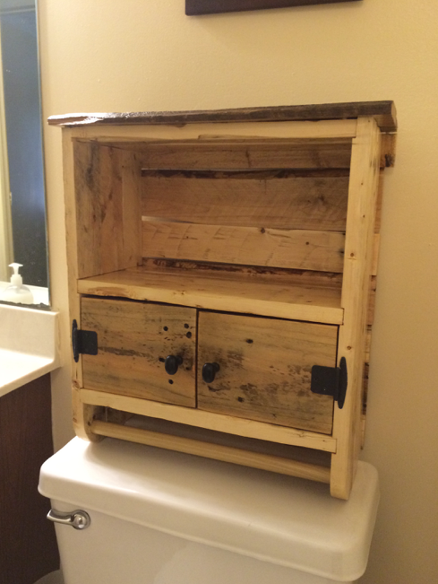 Bathroom Vanities Made Out Of Pallets With Awesome Type In