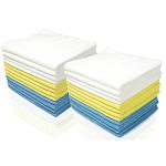 Royal Microfiber Cleaning Washcloths - 48 Pack Towels