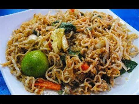 resipi maggi goreng mamak malaysian street food fried