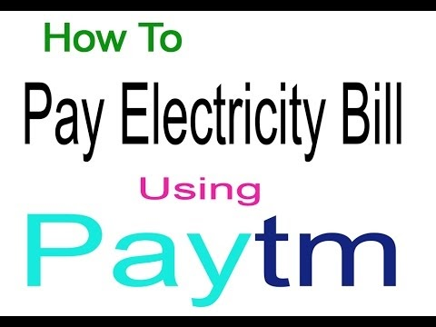 How To Pay Electricity Bill By Paytm Online Utility