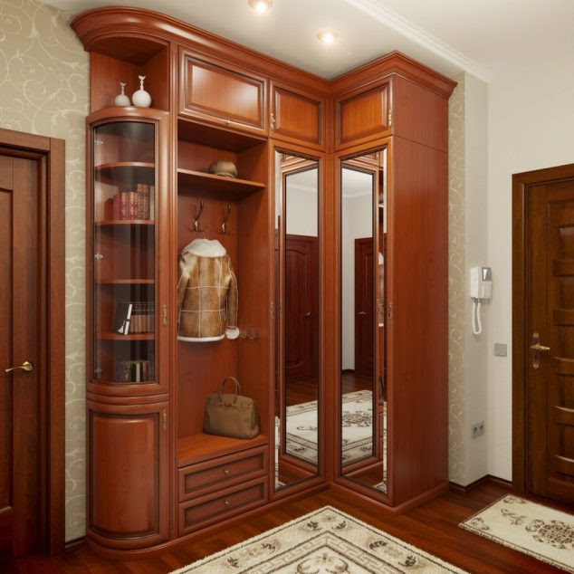 shkaf dlya prihozhey v klassicheskom stile 02 634x634 13 Absolutely Great Contemporary Wardrobes
