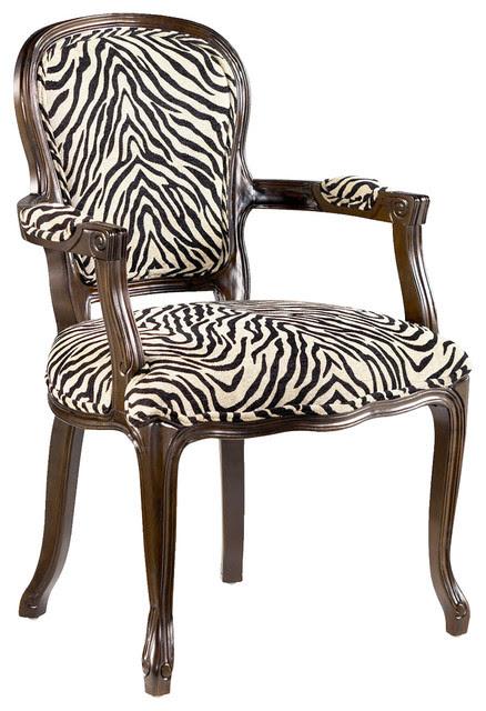 Hammary 090436 Hidden Treasures Animal Print Accent Chair