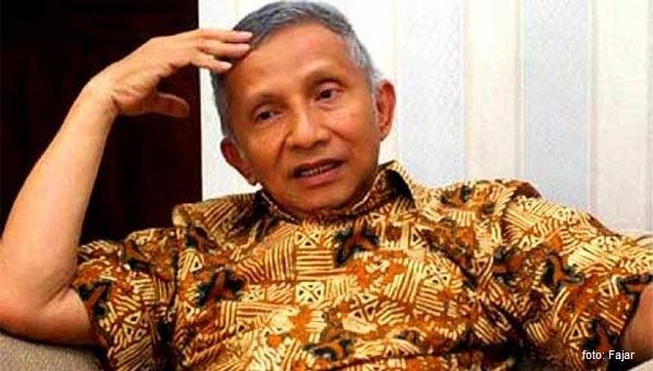 Amin Rais: Amerika Dibalik Pelambatan Ekonomi Indonesia