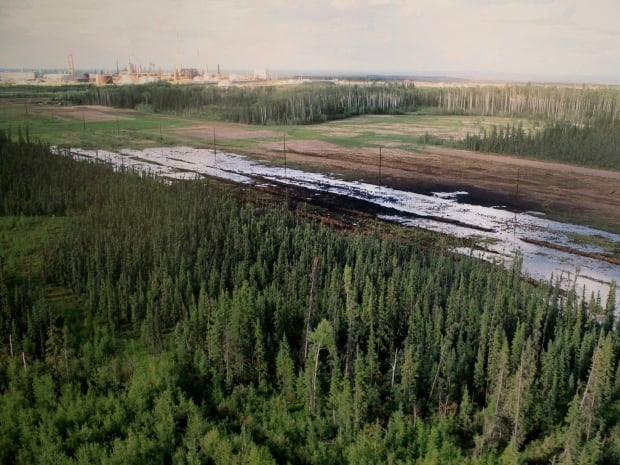A spill was discovered Wednesday, July 15, 2015 at Nexen Energy's oilsands facility near Long Lake, south of Fort McMurray in Alberta.
