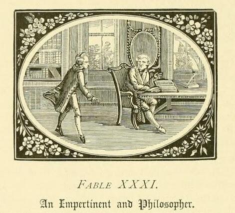 Philosophus et Petulans