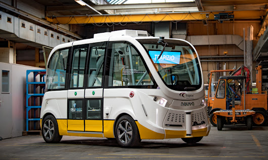 Riding the world's first autonomous shuttle in regular route public transportation