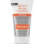 Neutrogena All-in-1 Acne Control Daily Scrub, 4.2 Fl. Oz