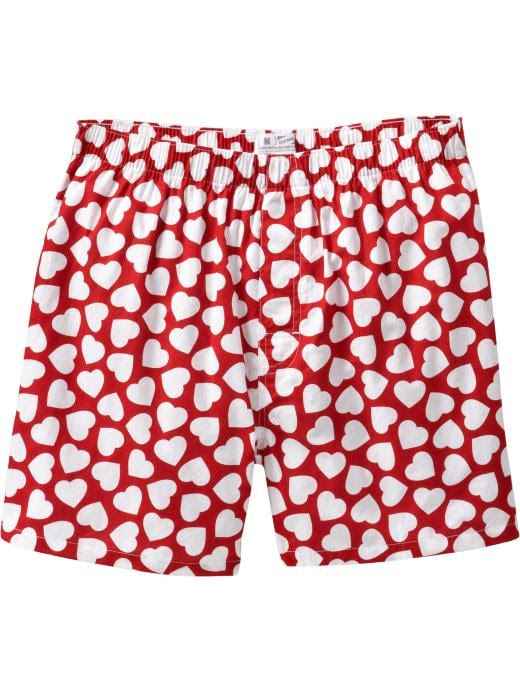 Old Navy Mens Valentines Day Boxers