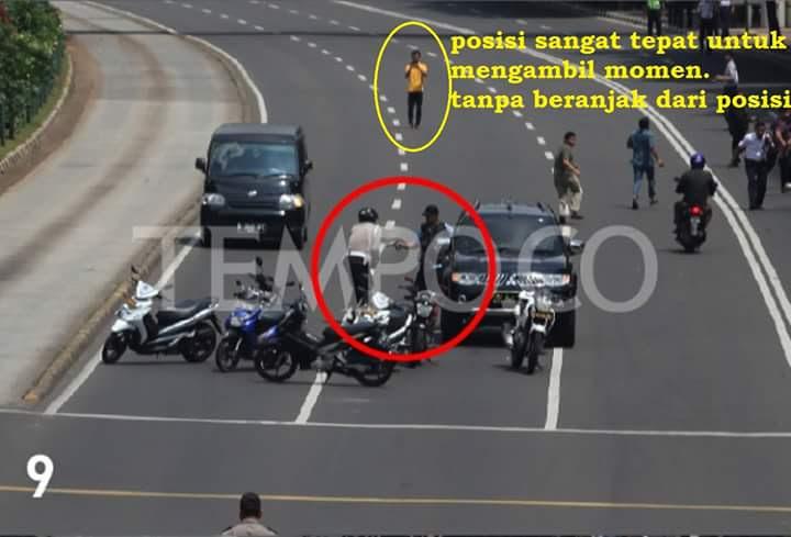 Foto Janggal di Tragedi Bom Sarinah 9