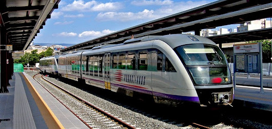 Train Athens Airport - Travel in Greece by train