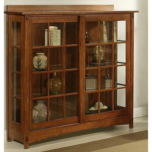 Bungalow Curio Cabinet | Wayfair